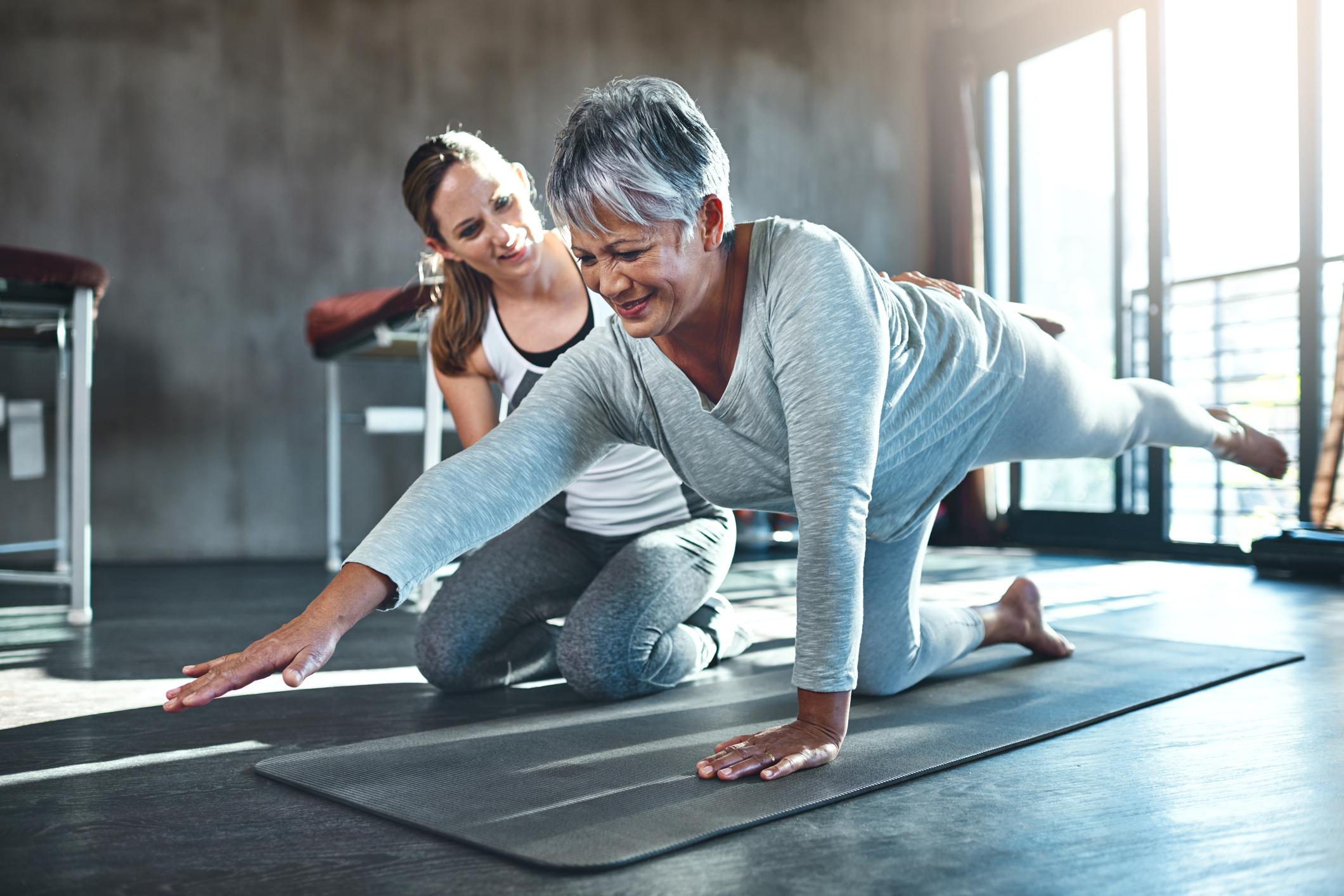 Styrketräning för äldre